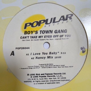 BOYS TOWN GANG(R&B/ソウル)