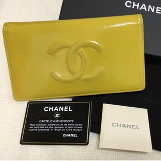 シャネル(CHANEL)のCHANEL シャネル 財布 二つ折り(財布)