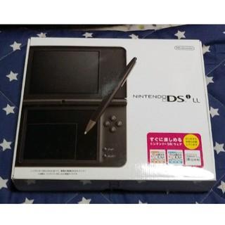 ニンテンドーDS(ニンテンドーDS)の新品未使用☆DS i LL☆ダークブラウン☆初期モデル(携帯用ゲーム機本体)