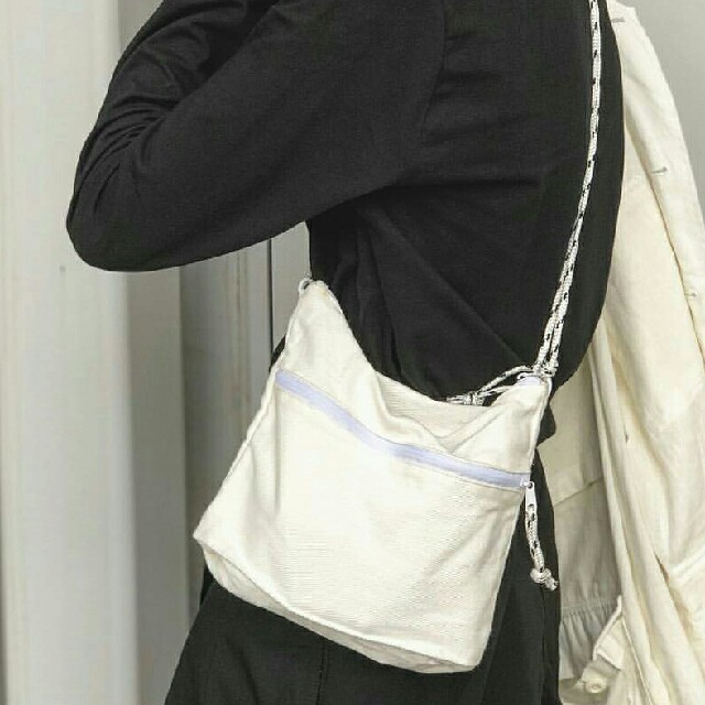 2c3bff8f88d7 Ungrid(アングリッド)のダブルジップサコッシュバッグ レディースのバッグ(ショルダーバッグ