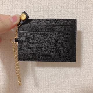 プラダ(PRADA)のPRADA カードケース 新品(名刺入れ/定期入れ)
