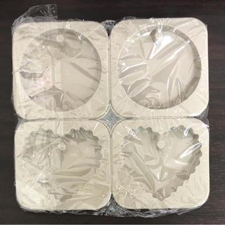 丸 ギザハート タグ型 シリコンモールド アロマワックスバー アロマストーン(各種パーツ)