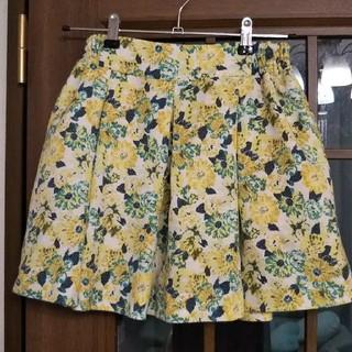 ローリーズファーム(LOWRYS FARM)のLOWRYS FARM 花柄ミニスカート(ミニスカート)