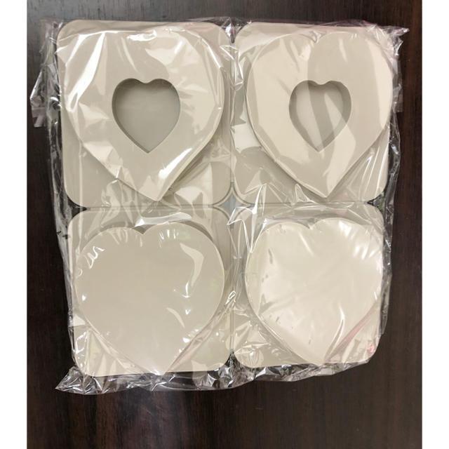 ハート タグ型 シリコンモールド  アロマワックスバー サシェ アロマストーン ハンドメイドの素材/材料(各種パーツ)の商品写真