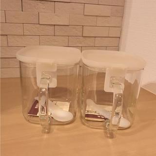 ムジルシリョウヒン(MUJI (無印良品))の未使用 無印良品 ガラス保存容器(容器)