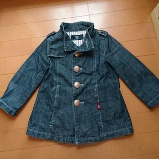 シーシーエム(CCM)のデニムコート 女児100センチ(ジャケット/上着)