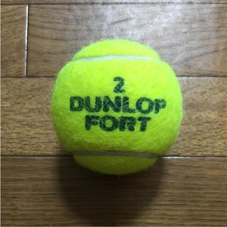 ダンロップ(DUNLOP)のダンロップテニスボール 1個 ②(ボール)