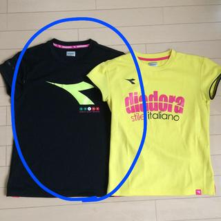 ディアドラ(DIADORA)のDIADORA ディアドラ 可愛いTシャツ2枚 テニスレッスン サイズL(ウェア)