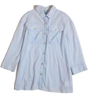 ランバンオンブルー(LANVIN en Bleu)のランバンオンブルー 水色 ブラウス(シャツ/ブラウス(長袖/七分))
