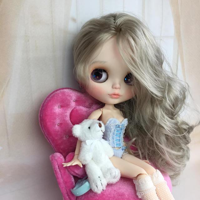 カスタムドール   018  icyドール ハンドメイドのぬいぐるみ/人形(人形)の商品写真