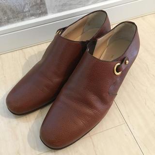 タニノクリスチー(TANINO CRISCI)のタニノクリスチー  サイドゴア 革靴(ローファー/革靴)