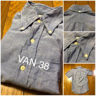 ヴァンヂャケット(VAN Jacket)のVAN JAC 古着半袖ボタンダウンシャツ サイズ38 (シャツ)