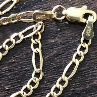 アヴァランチ(AVALANCHE)の14K  フィガロ ネックレス(ネックレス)