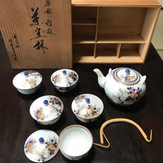 コウランシャ(香蘭社)の香蘭社 茶器セット新品未使用 有田焼(食器)