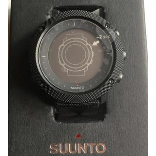 スント(SUUNTO)のSUUNT トラバース アルファ ステルス(腕時計(デジタル))