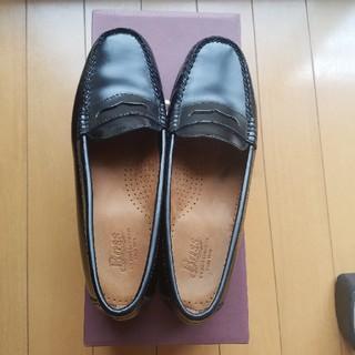 ジーエイチバス(G.H.BASS)のまめハハ様専用 G.H.Bass ローファー 黒(ローファー/革靴)