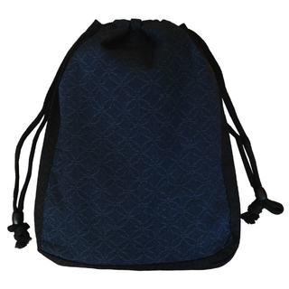 新品送料込み 男性用 信玄袋 小物入れ きんちゃく ゆかたバッグ 着物 巾着(和装小物)