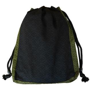新品送料込み 男性用 信玄袋 小物入れ きんちゃく 巾着 ゆかたバッグ 着物(和装小物)