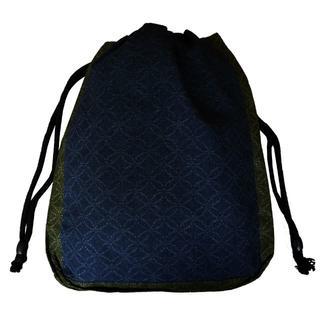 新品送料込み 男性用 信玄袋 巾着 ゆかたバッグ 着物 小物入れ きんちゃく(和装小物)