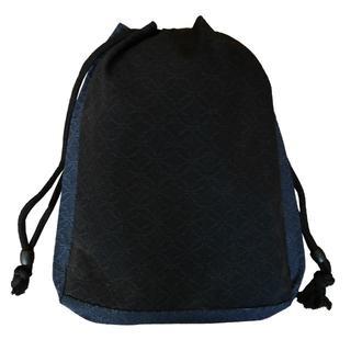 新品送料込み 男性用 信玄袋 巾着 ゆかたバッグ 着物 きんちゃく 小物入れ(和装小物)