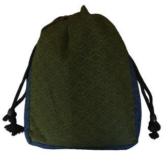新品送料込み 男性用 信玄袋 巾着 ゆかたバッグ きんちゃく 着物 小物入れ(和装小物)