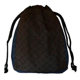 新品送料込み 男性用 信玄袋 巾着 きんちゃく ゆかたバッグ 着物 小物入れ(和装小物)