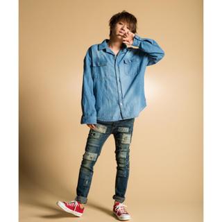 glamb × nissy コラボ デニムシャツ サイズ24