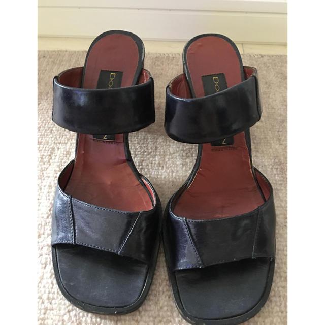 DKNY WOMEN(ダナキャランニューヨークウィメン)のサンダル DO NNA KARAN レディースの靴/シューズ(サンダル)の商品写真