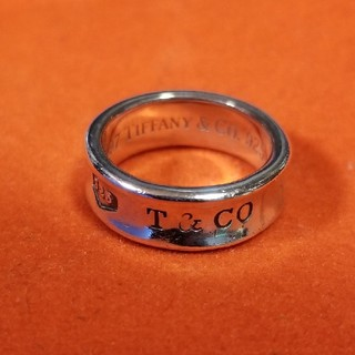 ティファニー(Tiffany & Co.)の!shrimp様専用! 正規ティファニー ワイドナローリング(リング(指輪))