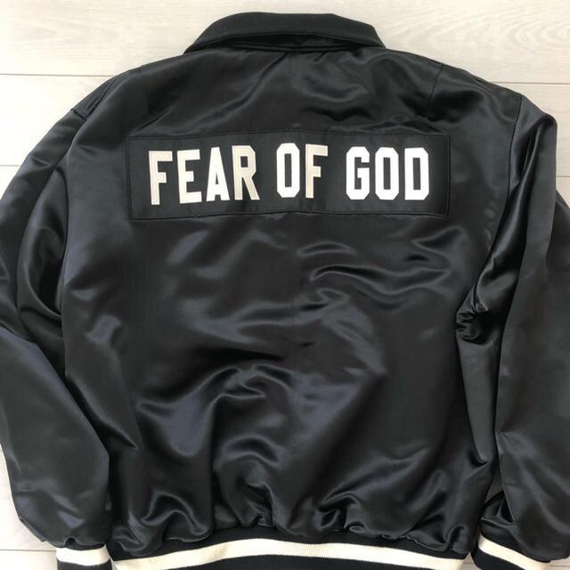 FEAR OF GOD(フィアオブゴッド)の確実正規品 fear of god フィア オブ ゴット コーチブルゾン メンズのジャケット/アウター(ブルゾン)の商品写真