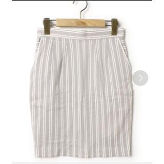 イチパーセント(1%)のタイトスカート(ひざ丈スカート)
