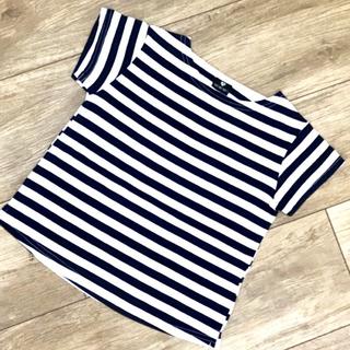 【韓国子供服】 ボーダーTシャツ(Tシャツ/カットソー)
