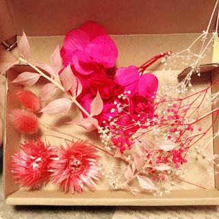 完売しました!貴重花材セット♡アロマワックスバーやハーバリウムに♡(プリザーブドフラワー)