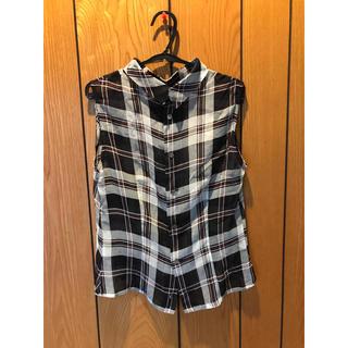 スキャパ(SCAPA)のSCAPA チェックシャツ(シャツ/ブラウス(半袖/袖なし))