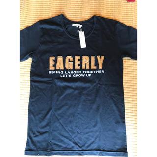 セマンティックデザイン(semantic design)のTシャツ ブラック semantic design 新品 L メンズ(Tシャツ/カットソー(半袖/袖なし))