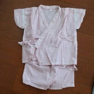 ムジルシリョウヒン(MUJI (無印良品))の子供用 甚平(甚平/浴衣)