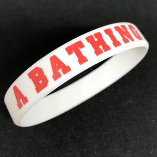 アベイシングエイプ(A BATHING APE)のA BATHING APE リストバンド(バングル/リストバンド)