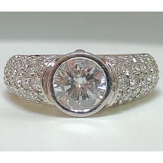 ★極上★    プラチナダイヤモンドリング(リング(指輪))