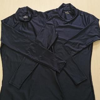 スポルディング(SPALDING)のSPALDING  M アンダーシャツ ネイビー 長袖 2枚セット(ウェア)