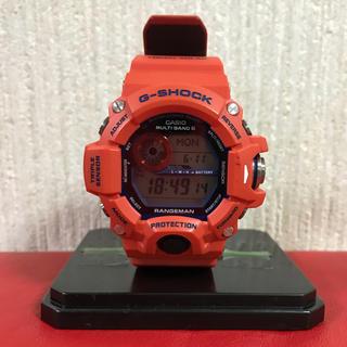 ジーショック(G-SHOCK)の[週末限定価格]  G-SHOCK レンジマン 神戸市消防局 コラボモデル(腕時計(デジタル))