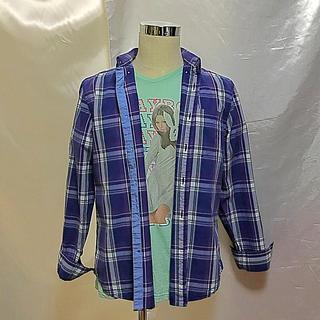 アメリカンイーグル(American Eagle)のお値下《インポート》【美品】アメリカン・イーグル☆チェックシャツ(シャツ)