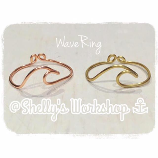 専用 ♡ Wave Ring ⚓︎ シルバー ハンドメイドのアクセサリー(リング)の商品写真