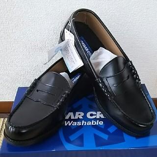 セダークレスト(CEDAR CREST)のセダークレスト ローファー ウォシャブル 26.5cm(EEE) ブラック   (ドレス/ビジネス)