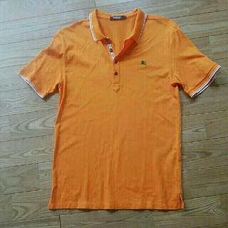 バーバリーブラックレーベル(BURBERRY BLACK LABEL)のBURBERRY ポロシャツ 美品(ポロシャツ)