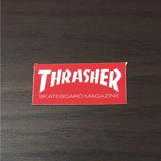 スラッシャー(THRASHER)の【縦1.9cm横4.1cm】THRASHER ミニステッカー(スケートボード)
