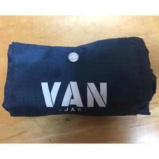 ヴァンヂャケット(VAN Jacket)の未使用新品 VAN エコバッグ ネイビー (エコバッグ)