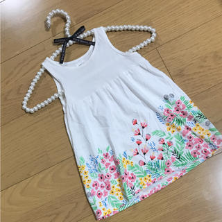 エイチアンドエム(H&M)のH&M とっても可愛い花柄ワンピース♡(ワンピース)