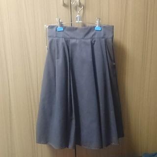 シーディーエスベーシック(C.D.S BASIC)のC.D.S BASIC ブラウン スカート(ひざ丈スカート)