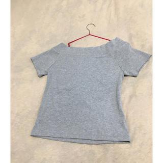 アンレリッシュ(UNRELISH)のUNRELISH☆半袖リブシャツ(Tシャツ(半袖/袖なし))
