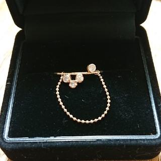 アッシュペーフランス(H.P.FRANCE)のme.ie ダイヤモンドリング(リング(指輪))